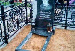 Гравировка с выездом на кладбище