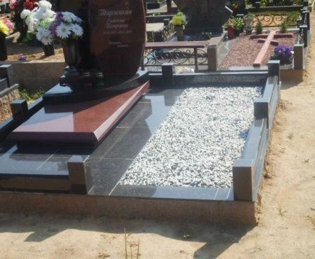 Декоративный щебень на могилу